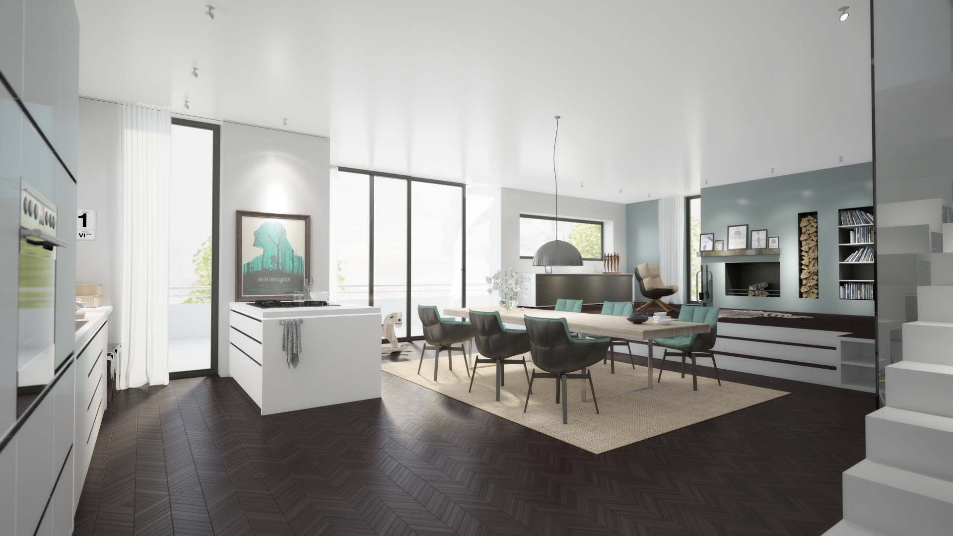 Flowgrafix werbeagentur for Wohnung interior