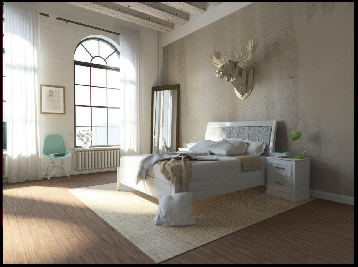 CGI Schlafzimmer