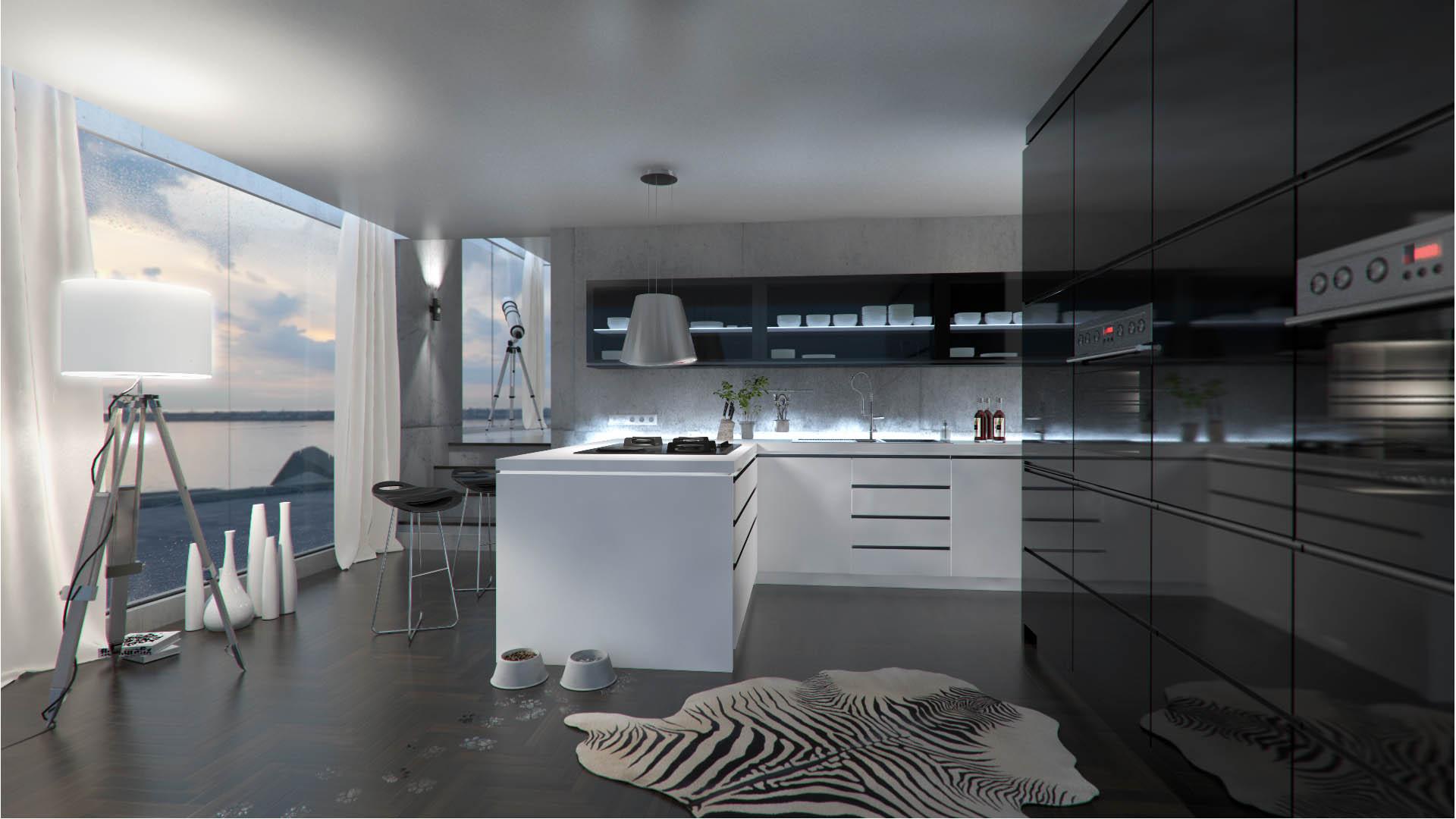 CGI Küche
